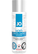 Jo H2o Water Based Lubricant Warming 2oz